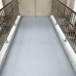 開放階段ウレタン防水